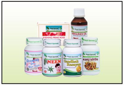 Skin Care Pack, Herbal Remedies for Skin Problems