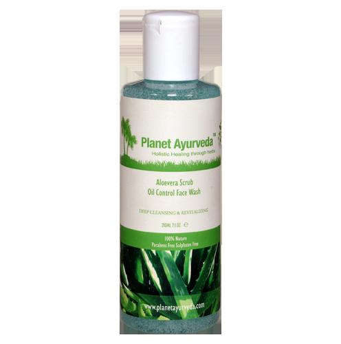 Aloevera Scrub Oil Control Face Wash