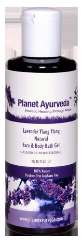 Lavender Natural Face & Body Bath Gel