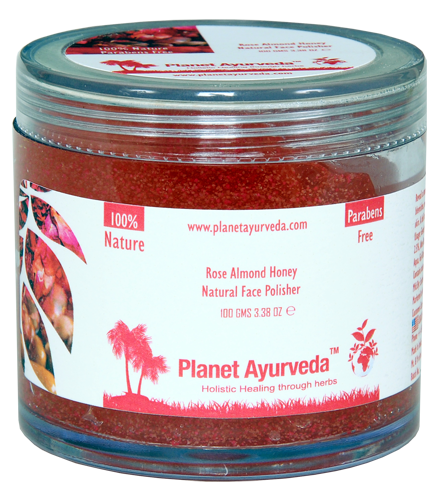 Rose Almond Honey Natural Face Polisher