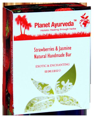 Strawberries & Jasmine Natural Handmade Bar