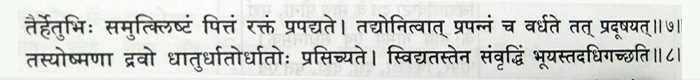 Charak samhita 2, Chikitsa sthanam, chapter no.4, shloka no. 7 and 8